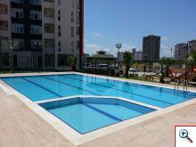 Büyük Yüzme Havuzu Yapımı