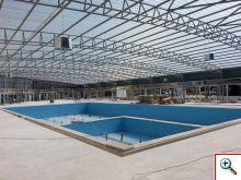 Büyük Kapalı Yüzme Havuzu Yapımı